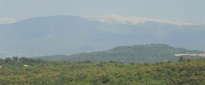 Photograph of Mont Ventoux
