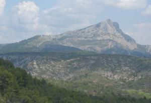 Mont St Victoire, Aix-en-Provence