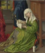 The Magdalen Reading before 1438, Rogier van der Weyden