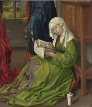 The Magdalen Reading before 1438, Rogier van der Weyden