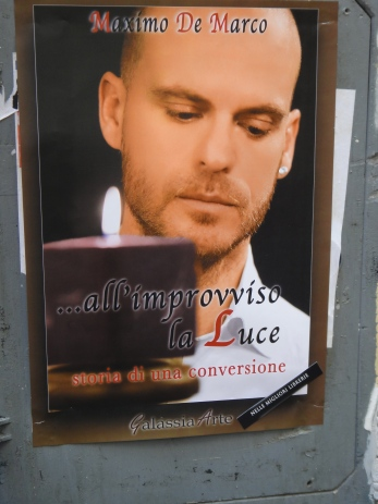 An advertisement spotted in Rome