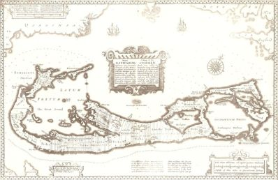 Speed's map of Bermuda