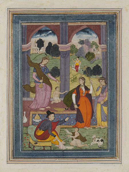 Mughal Painting from the Royal Court, c. 1600