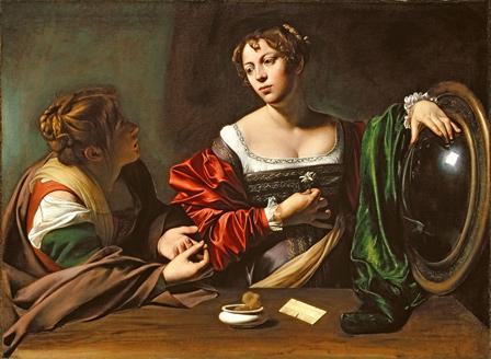 Caravaggio, Martha and Mary Magdalene